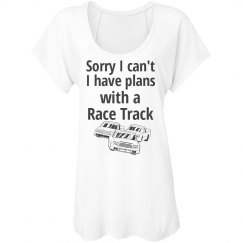 plans with a race track