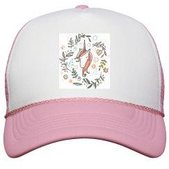 Watercolor Pink Unicorn