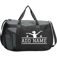 Cute Patterned Custom Dance Duffel