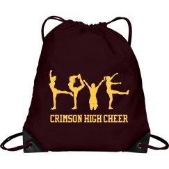 Cheerleading Love Bag