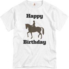 Equestrian birthday