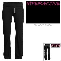hyperactive sweats/pants