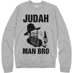 Judah Man Bro Sweatshirt
