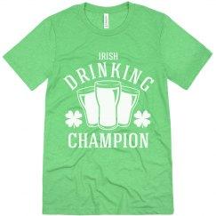 Irish Drinking Champion
