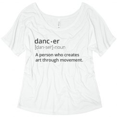 dancer shirt