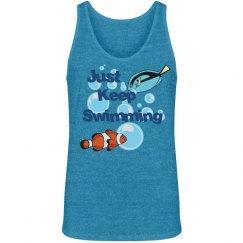 Keep Swimming-Men's tank
