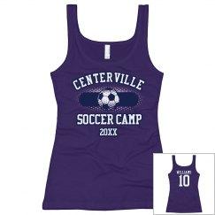 Soccer Camp Tank w/ Back