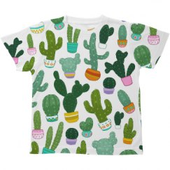 This Kid Loves Cacti Tee