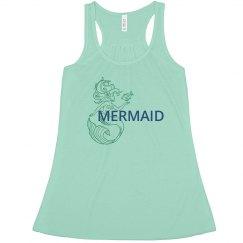 Mermaid Flowy Tank Version 2