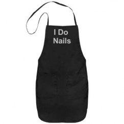 i do nails apron rhinestone