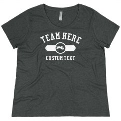 Custom Running Team Plus Tee