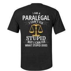 Paralegal can fix what stupid does