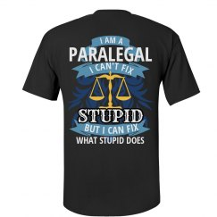 Men's Paralegal Fix What Stupid Does