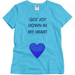 Religious joy in my heart