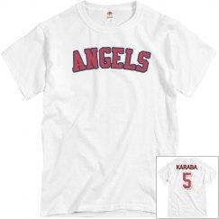 Angels Baseball Shirt