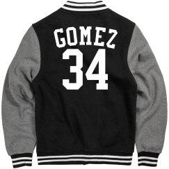 Gomez football jacket