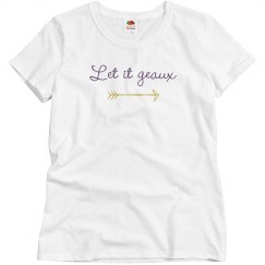 Let It Geaux Adult Tee
