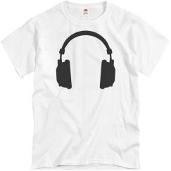 Headphones Guys Tee