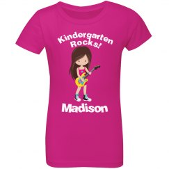 Kindergarten Rocks Girl