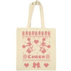 Christmas Gift Tote Bags for Cheerleader
