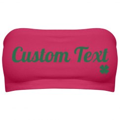 St Patricks Day Custom Bandeau