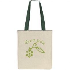 Grapelicious Green (Eco Friendly Bag)
