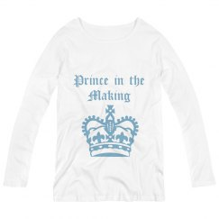 Prince in the Making - longsleeve white