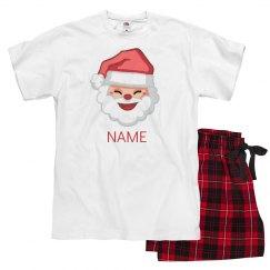 Matching Santa Christmas Pajamas