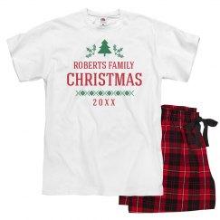 Classic Family Christmas Pajamas