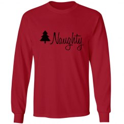 Naughty Nice Matching Christmas PJs