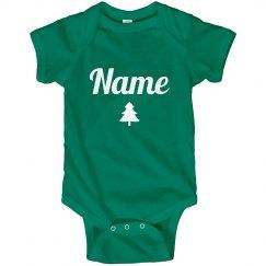 Cute Matching Xmas Pajamas Baby