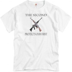 The 2nd protects our 1st.