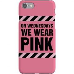 Pink Wednesday Phone Case