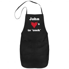 John Loves To Cook