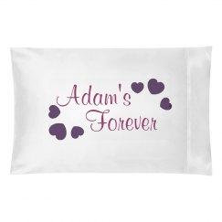 Adam's Forever Pillowcase
