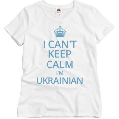 I'm Ukrainian