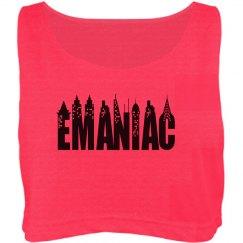 NYC EManiac Crop Top