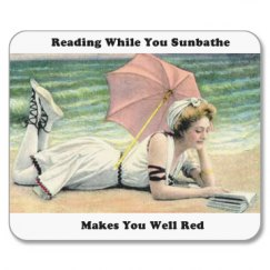 Reading While You Sun