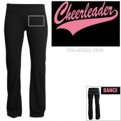 Cheer yoga pants
