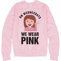 Emoji Pink Wednesday