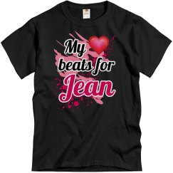 My heart beats for Jean