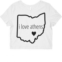 Athens Crop Top