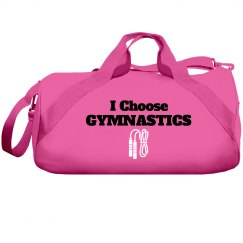 I choose gymnastics