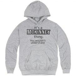 Its a McKinney thing