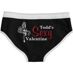 Sexy Valentine Custom Undies