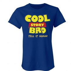 Cool Story Logo Spoof