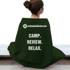 Relaxing Campfire Blanket