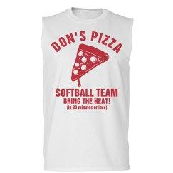 Pizza Biz Softball Team