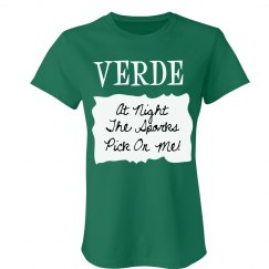 Verde Sauce Packet Costum