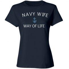 Navy wife way of life